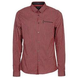 Vêtements Homme Chemises manches longues Guess Chemise Yd Comfort Shirt Rouge (sp) Rouge