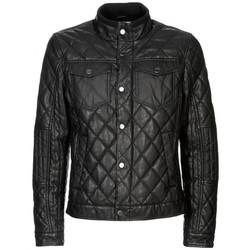 Vêtements Homme Blousons Guess Blouson  Diamond Quilted Jet Black (sp) Noir