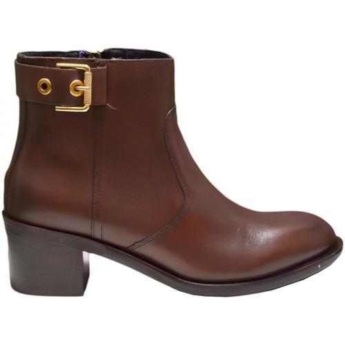 Chaussures Femme Bottines Tommy Hilfiger Bottines en cuit  Parson marron pour homme Marron