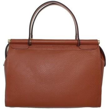 Sacs Femme Sacs porté épaule Pourchet Grand Sac à main  en cuir ref_pou41945 gold Marron