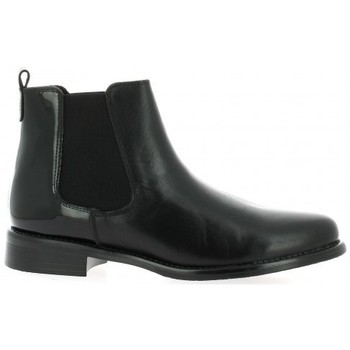 Chaussures Femme Bottines We Do Boots cuir vernis Noir
