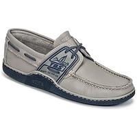 Chaussures Homme Chaussures bateau TBS GLOBEK Gris / Bleu