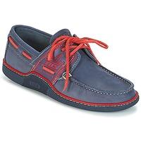 Chaussures Homme Chaussures bateau TBS GLOBEK Bleu / Rouge
