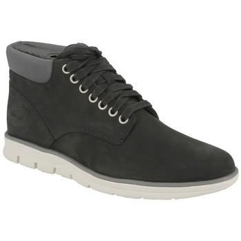 Chaussures Homme Baskets mode Timberland CHUKKA LEATHER Noir