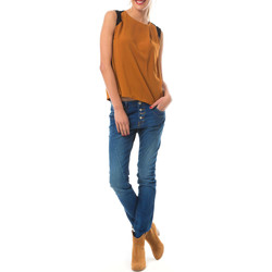 Vêtements Femme Tops / Blouses Yas Top Erica  Marron Marron
