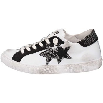 Chaussures 2 stars 2s1602 basket femme white