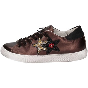 Chaussures 2 stars 2s1652 basket femme brown