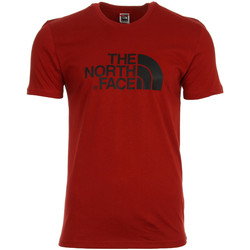 Vêtements Homme T-shirts manches courtes The North Face Easy Tee Red rouge