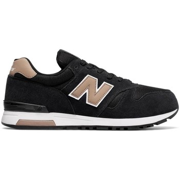 Chaussures Homme Baskets basses New Balance Baskets  Classics Ml565 Skb Black Noir