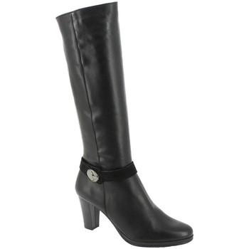 Chaussures Femme Bottes Dorking 7203 noir