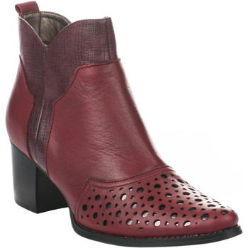 Madison Femme Bottines  Boots  - - Rouge...