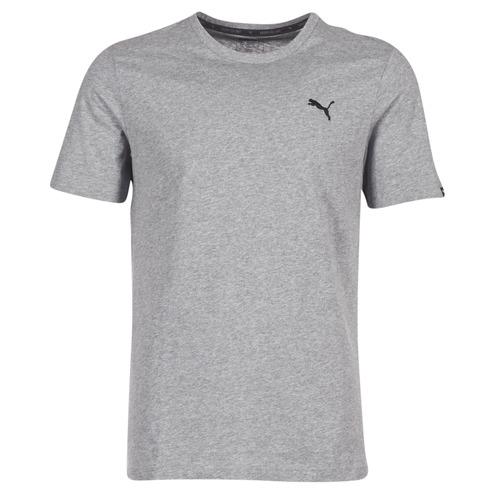 Ess Tee T Homme Puma Manches Courtes Gris shirts q4ARL5jc3