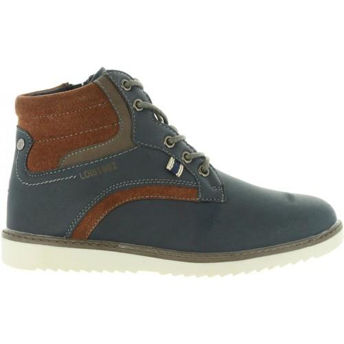 Lois Jeans 83840 Azul - Chaussures Boot Femme