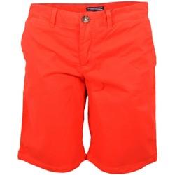 Vêtements Homme Shorts / Bermudas Tommy Hilfiger Bermuda  Janet rouge pour femme Rouge