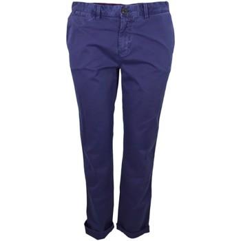 Vêtements Femme Chinos / Carrots Tommy Hilfiger Pantalon chino  Janet bleu marine pour femme Bleu