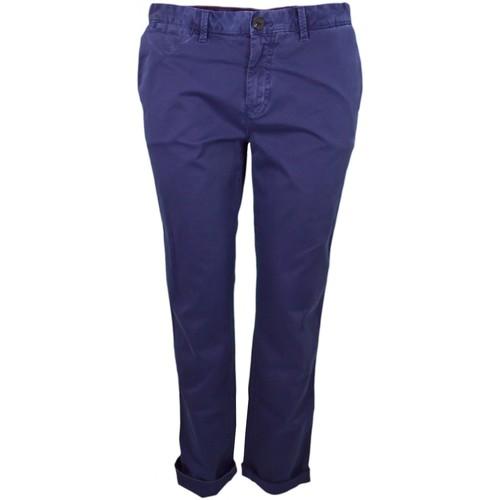 20b31b460 Pantalon chino Janet bleu marine pour femme