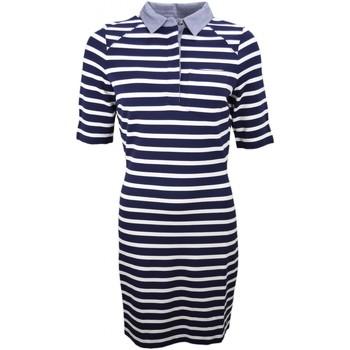 Robe Tommy Hilfiger Robe marinière bleu marine et blanche pour femme