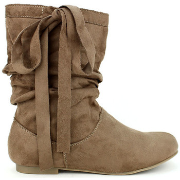 Chaussures Femme Bottines Cendriyon Bottines Taupe Chaussures Femme, Taupe