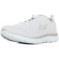 Chaussures Femme Baskets basses Skechers Flex Appeal 2.0 Open Night blanc