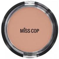 Beauté Femme Blush & poudres Miss Cop - Poudre compacte 02 Beige naturel Beige