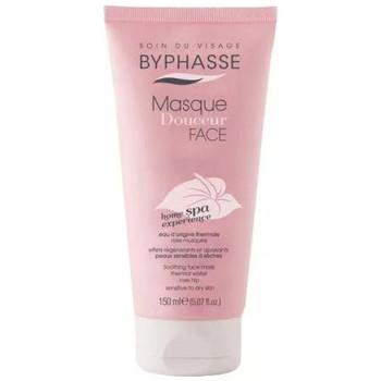 Beauté Femme Masques & gommages Byphasse - Masque pour visage à la rose musquée - Peaux sensibles et sèc Autres