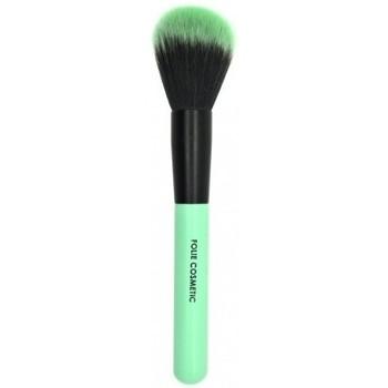 Beauté Femme Pinceaux Folie Cosmetic - Pinceau Poudre teint Vert Pastel Vert