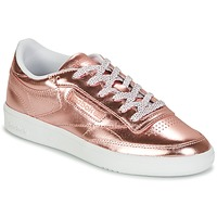 Chaussures Femme Baskets basses Reebok Classic CLUB C 85 S SHINE Rose metallic
