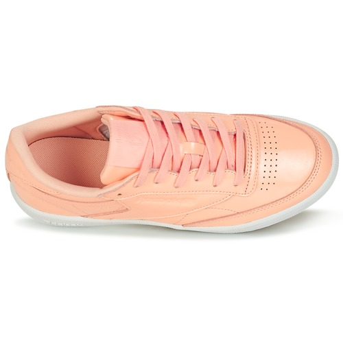 Chaussures Classic Basses Rose Baskets Club 85 Reebok Femme C Patent XNnwP08Ok