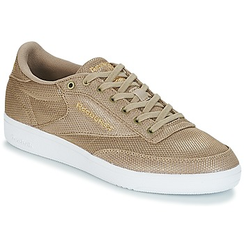 Chaussures Femme Baskets basses Reebok Classic CLUB C 85 METALLIC Champagne / taupe / beige