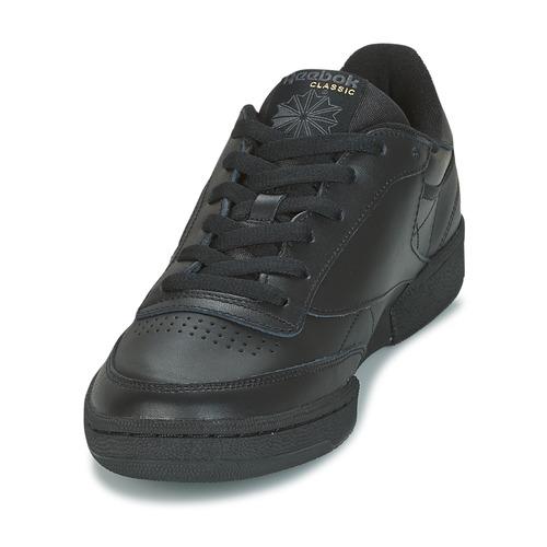 CLUB C 85  Reebok Classic  baskets basses    noir