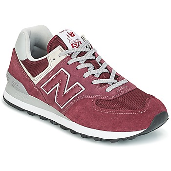 competitive price b8201 7a747 Chaussures Baskets basses New Balance ML574 Bordeaux