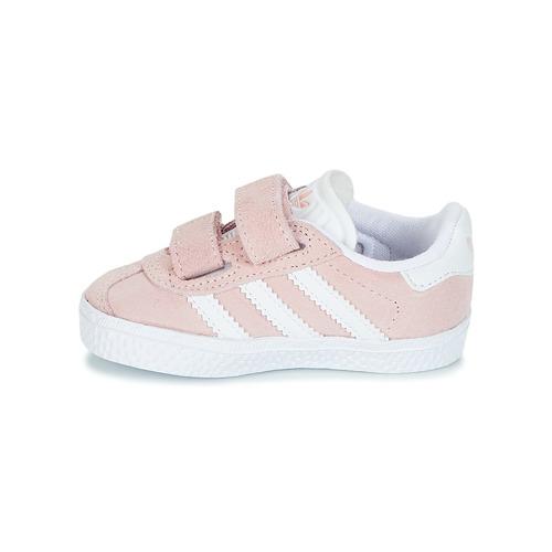 Adidas Originals Gazelle Cf I Rose - Livraison Gratuite- Chaussures Baskets Basses Enfant 4500 wGJRk