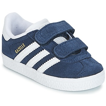 timeless design 2f4ff 893cb Chaussures Garçon Baskets basses adidas Originals GAZELLE CF I Marine
