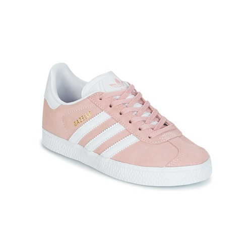 brand new 1c270 d90e6 Chaussures Fille Baskets basses adidas Originals GAZELLE C Rose