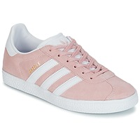 Chaussures Fille Baskets basses adidas Originals GAZELLE J Rose