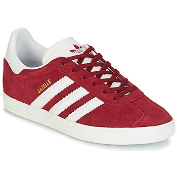 Chaussures Enfant Baskets basses adidas Originals GAZELLE J Bordeaux