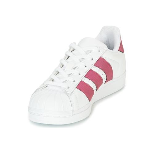 Adidas Basses Superstar J BlancRose Fille Originals Chaussures Baskets 0wkOXN8ZnP