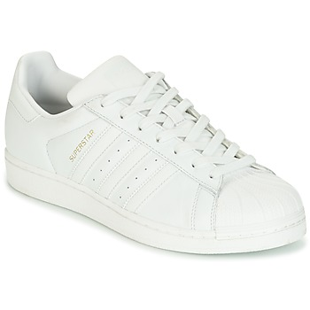 Chaussures Femme Baskets basses adidas Originals SUPERSTAR Blanc cristal