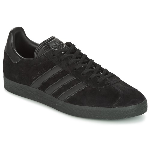 adidas Originals GAZELLE Noir  - Chaussures Baskets basses