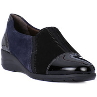 Chaussures Femme Mocassins Melluso PANTOFOLA Nero