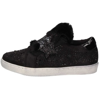 Chaussures Fille Baskets basses Lulu LuLù PLUS Ballerines et Mocassins Fille Black Black