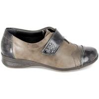 Chaussures Femme Derbies Boissy Derby 7510 Noir Marron