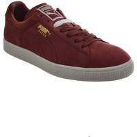 Chaussures Homme Baskets basses Puma baskets mode  suede classic + rouge rouge