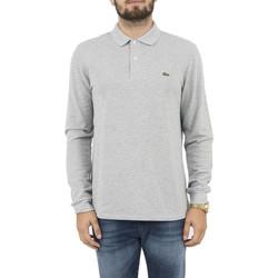 Vêtements Homme Polos manches longues Lacoste l1313 gris