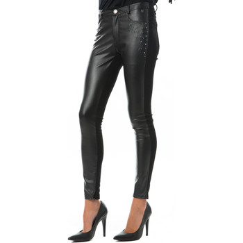 Collants Pepe jeans legging bi matiere illis noir
