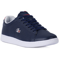 Chaussures Homme Baskets basses Lacoste CARNABY EVO 31 NAVY Blu