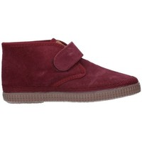 Chaussures Garçon Boots Natural World 525 Niño Burdeos rouge