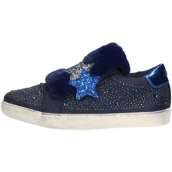 Chaussures Fille Slips on Lulu LULÙ LS150034S Slip on  Enfant Bleu Bleu