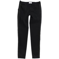 Vêtements Femme Chinos / Carrots Le Temps des Cerises Pantalon Chino Femme Lolly Noir Noir