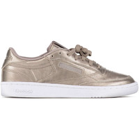 Chaussures Homme Baskets basses Reebok Sport Baskets  Club C 85 Melted Metal Bronze Femme Taupe